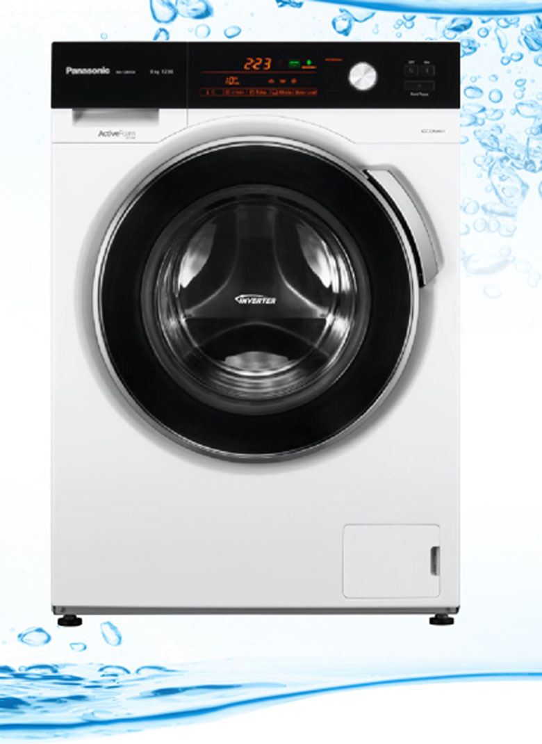 Máy Giặt Cửa Ngang Panasonic NA-128VG5LVT (8Kg)