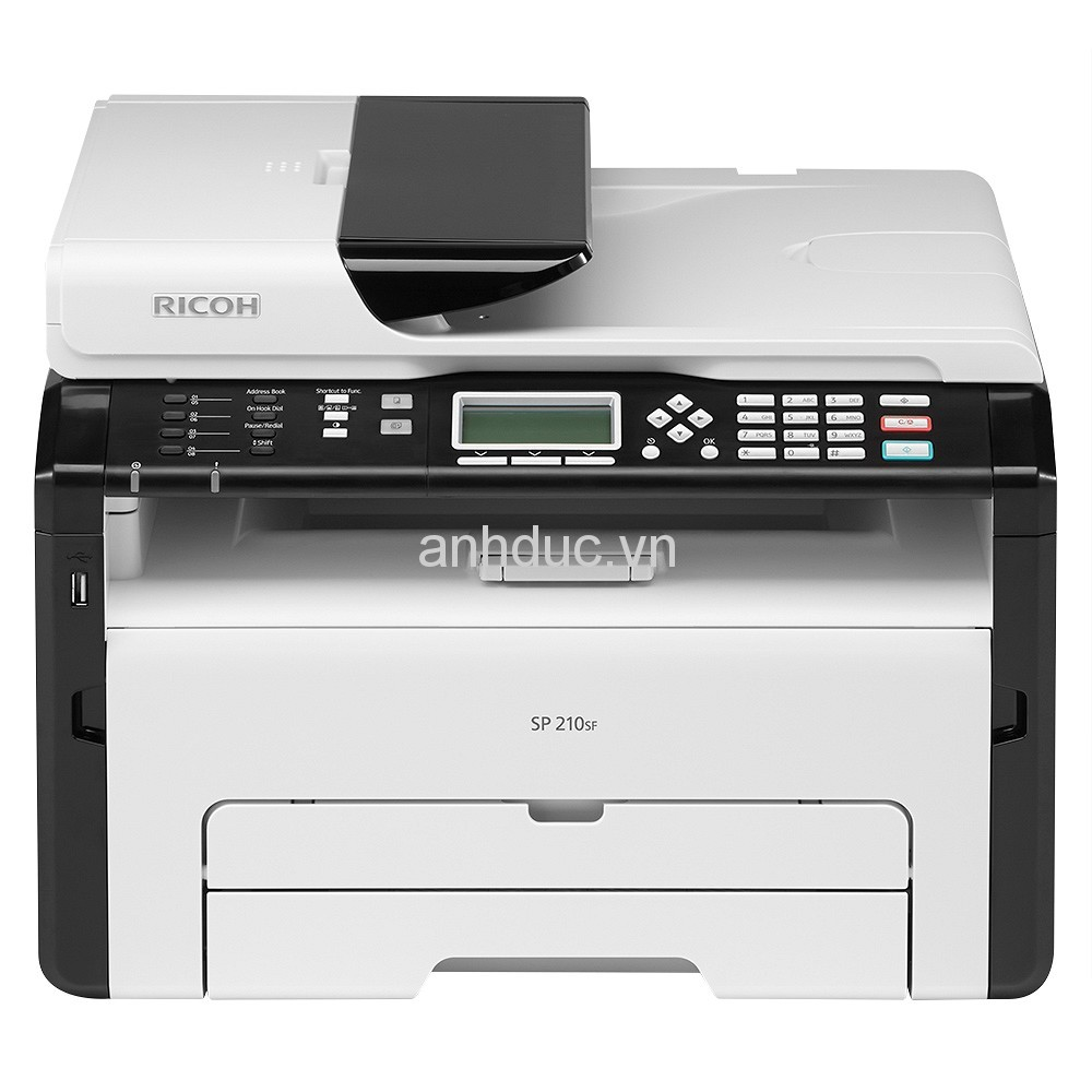 Máy in laser đa chức năng Ricoh SP 210SF (In,Scan,Copy, Fax