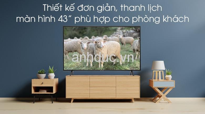 Smart Tivi Samsung 4K 43 inch UA43RU7200 Mẫu 2019